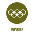 Página web del servicio de Deportes